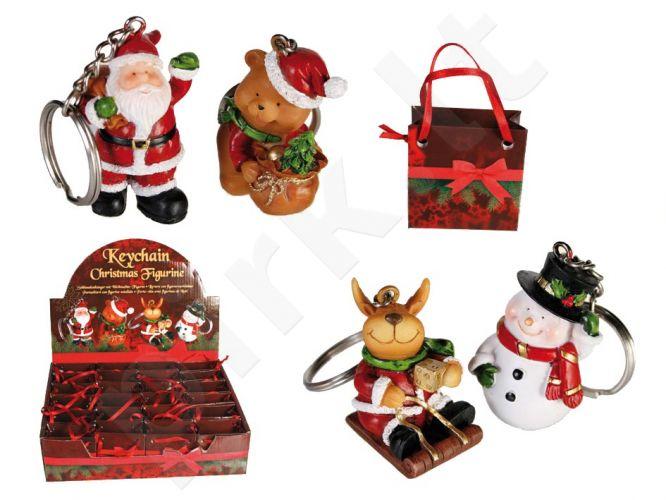 Kalėdinis raktų pakabukas dovanų maišelyje