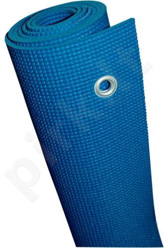 Kilimėlis gimnastikai GYM MAT 170x60x0,5cm PVC blue