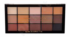 Makeup Revolution London Re-loaded, akių šešėliai moterims, 16,5g, (Basic Mattes)