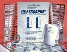 Šilumos energiją taupantys radiatorių skydai HEATKEEPER (10 vnt)