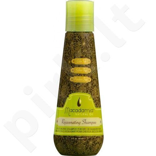Macadamia Rejuvenating šampūnas Dry Hair, kosmetika moterims, 300ml