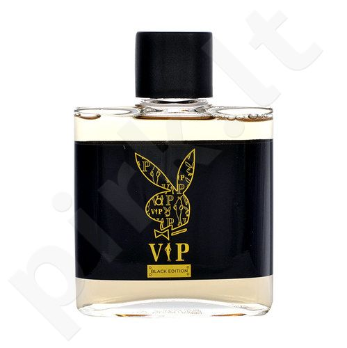 Playboy VIP Black Edition, losjonas po skutimosi vyrams, 100ml