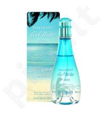 Davidoff Cool Water Exotic Summer, EDT moterims, 100ml