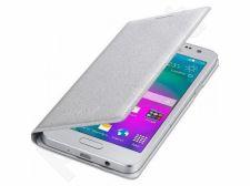 Samsung Galaxy A3 atverčiamas dėklas FA300BSE sidabrinis