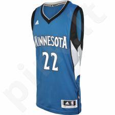 Marškinėliai krepšiniui Adidas Swingman Minnesota Timberwolves Andrew Wiggins M A69836