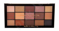 Makeup Revolution London Re-loaded, akių šešėliai moterims, 16,5g, (Velvet Rose)