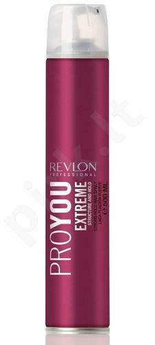 Revlon ProYou Hair purškiklis Extreme, 500ml, kosmetika moterims