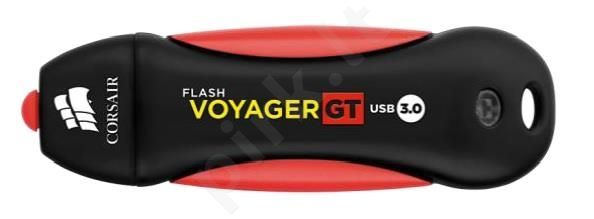 Atmintukas Corsair Voyager GT 64GB USB3, Atsparus guminis korpusas