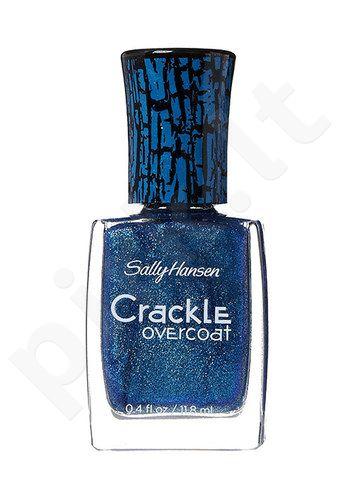 Sally Hansen Crackle Overcoat, kosmetika moterims, 11,8ml, (09 Wave Break)