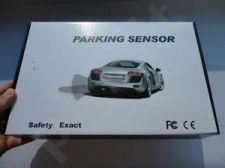 8-ių jutiklių parkavimo sistema 2 su LCD vaizduokliu