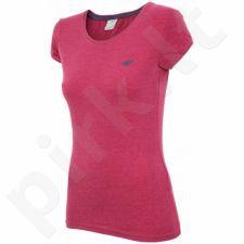 Marškinėliai 4f W T4Z16-TSD001 rožinės spalvos