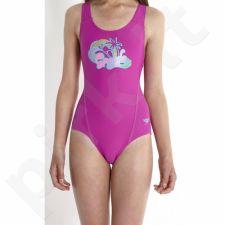 Maudymosi kostiumėlis Speedo Endurance+ Logo Placement Splashback Junior 8-07889A739