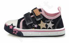 D.D. step juodi batai 20-25 d. csg-074a