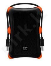 External HDD Silicon Power Armor A30 2.5'' 2TB USB 3.0, Anti-shock, Black