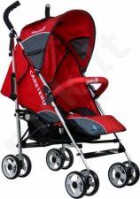 Caretero GRINGO vežimėlis skėtukas raudonas