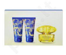 Versace Yellow Diamond Intense rinkinys moterims, (EDP 50ml + 50ml dušo želė + 50ml kūno pienelis)