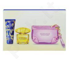 Versace Yellow Diamond Intense rinkinys moterims, (EDP 90ml + 100ml kūno pienelis + hand krepšys)