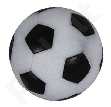 Stalo futbolo kamuoliukas, juodai baltas 33mm