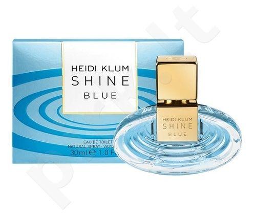 Heidi Klum Shine Blue, tualetinis vanduo moterims, 50ml