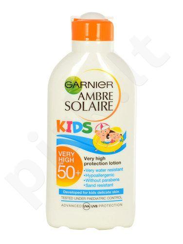 Garnier Ambre Solaire Kids, Protection Lotion SPF50+, Sun kūno losjonas vaikams, 200ml