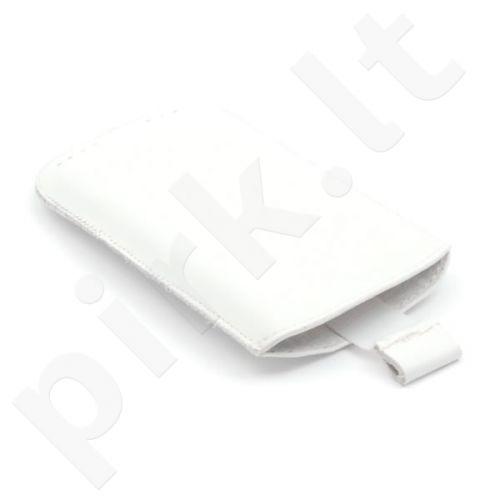 Universalus odinis dėklas baltos spalvos