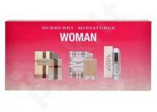 Burberry (EDP 4.5 ml LONDON + 5 ml EDT Brit + 4.5 ml EDP Body) Mini Set, rinkinys moterims