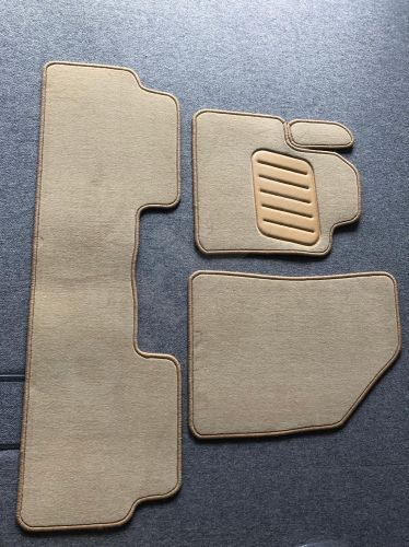 Kilimėliai ARS Citroen C5 2008-> (1074 - smėlinė /apsiūta siūlais)