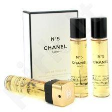 Chanel No.5, tualetinis vanduo (EDT) moterims, 3x20 ml