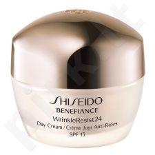 Shiseido BENEFIANCE Wrinkle Resist 24 dieninis kremas, kosmetika moterims, 50ml[pažeista pakuotė]