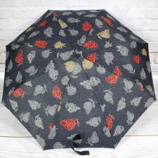DOPPLER PA77 pilkas skėtis pusiau automatinis