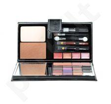 Makeup Trading Glamour Mirror Case rinkinys moterims, (11,5g akių šešėliai + 3g skaistalaier + 2g lūpdažis + 7g kompaktinė pudra + 3,5ml blakstienų tušas + 0,5g akių kontūrų priemonė+ 0,5g Lip Liner)