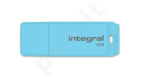 Atmintukas Integral Pastel 8GB, Blue Sky
