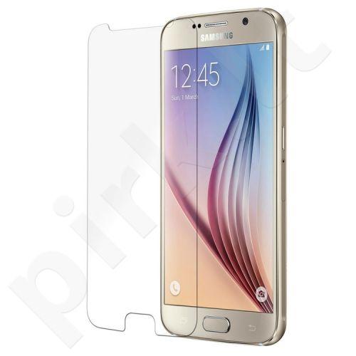 Apsauginis grūdintas permatomas stiklas Samsung Galaxy S6 telefonui