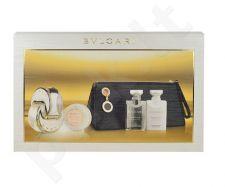 Bvlgari Omnia Crystalline rinkinys moterims, (EDT 65ml + 40ml kūno pienelis + 40ml dušo želė + 50g muilas + kosmetika krepšys)