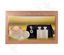 Bvlgari Aqva Divina rinkinys moterims, (EDT 65ml + 40ml kūno pienelis + 40ml dušo želė + 50g muilas + kosmetika krepšys)