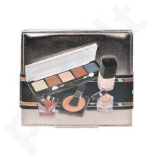 Makeup Trading (4g Lipgloss lūpų blizgis + 3,2g raudonis + 8,5g akių šešėliai + 6ml nagų lakas) Mocca Set, 21,7ml, kosmetika moterims