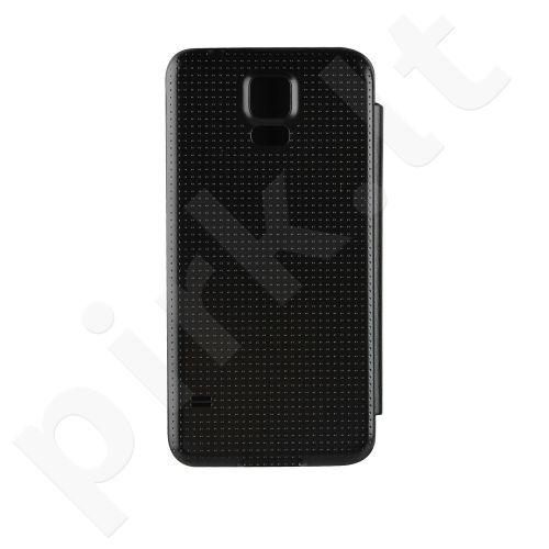 Atverčiamas dėklas skirtas Samsung Galaxy S5 Juodas