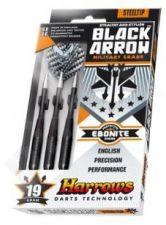 Strėlyčių rinkinys HARROWS Black Arrow