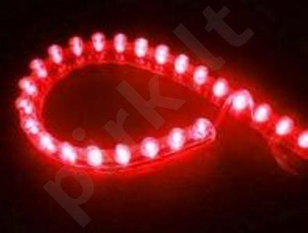 Juostelė šviečianti LED (24cm RAUDONA sp. 1vnt.)