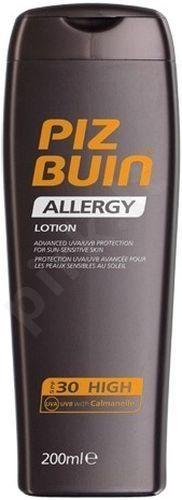 PIZ BUIN Allergy, Sun Sensitive Skin Lotion, Sun kūno losjonas moterims, 200ml