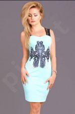 Emamoda suknelė - mėtinė spalva 6706-3