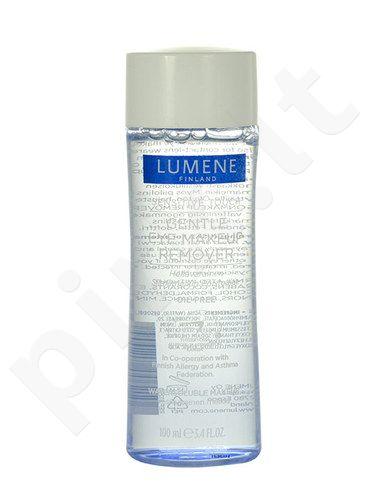 Lumene Sensitive Touch, Gentle Eye Makeup Remover, akių makiažo valiklis moterims, 100ml