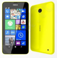 Nokia Lumia 630 Yellow Dual SIM