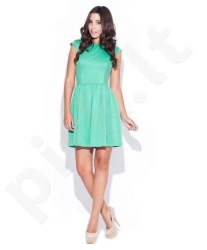 Suknelė K032 žalia spalva