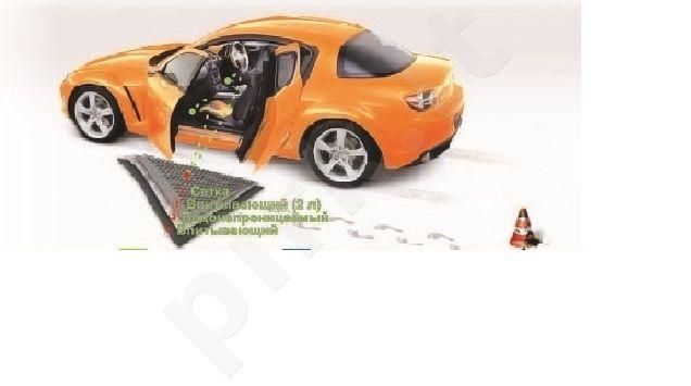 "Automobilinis kilimėlis ""Autopamp-pers"", sugeriantis iki 2 l vandens per parą!"