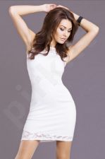 Emamoda suknelė - balta spalva 6821-2