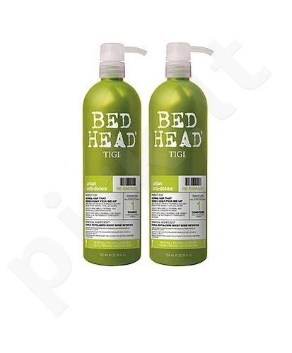 Tigi Bed Head Re-Energize, rinkinys šampūnas moterims, (750ml Bed Head Re-Energize šampūnas + 750ml Bed Head Re-Energize kondicionierius)