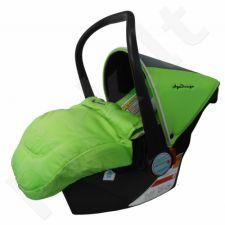 Automobilinė saugos kėdutė AGA DESIGN (0-13 kg) žalia