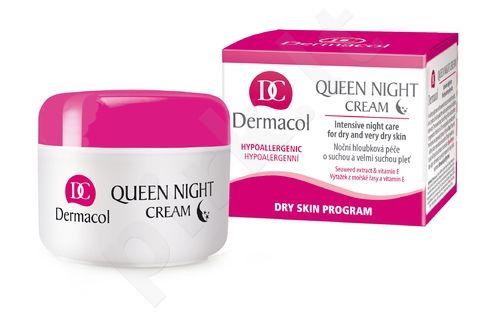 Dermacol Queen, Night Skin kremas moterims, 50ml