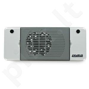 4World Nešiojamo komp. aušinimo padas, 1 ventiliatorius, kabelių tvarkymo panelė